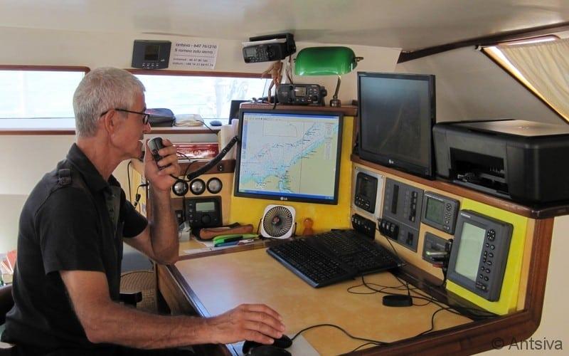 Systéme de communication du voilier scientifique Antsiva