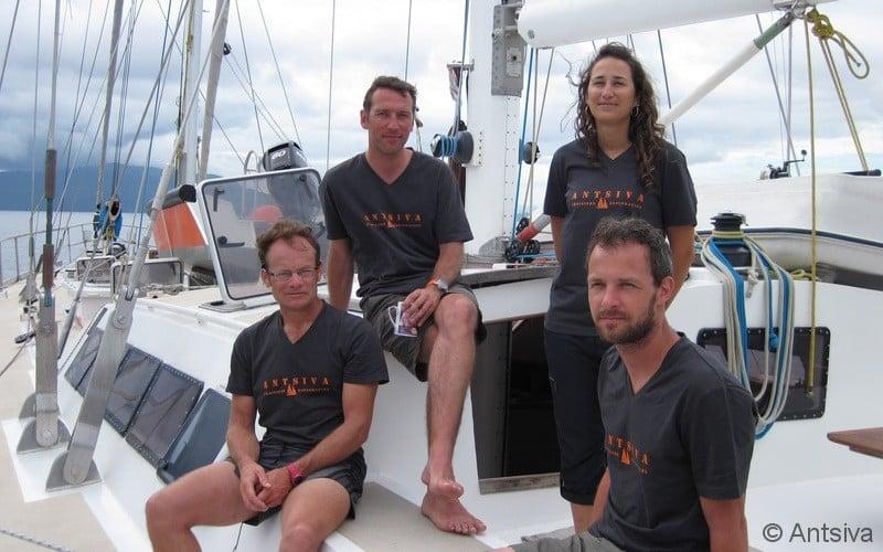 Missions scientifique reefcore 2013 avec le voilier Antsiva